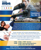 Panel Discussion and Career Opportunities with Anthem B...
