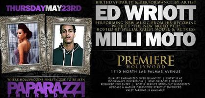 5.23.13: Paparazzi Thursdays @ Premiere! BringEmBackEnt List...