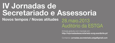 IV Jornadas de Secretariado e Assessoria