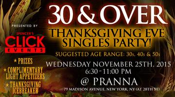 Thanksgiving Eve Singles Happy Hour - Ages 35-55