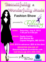 Beautifully and Wonderfully Made Fashion Show