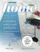 HOME- A Daytime Soiree and Pool Party