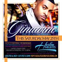 GINUWINE  Saturday @ Harlem Nights