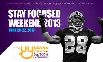 5th Annual Usama Young Stay Focused Football & Cheer Camp...