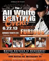 JTSD UNLIMITED PRESENTS: ALL WHITE EVERYTHING