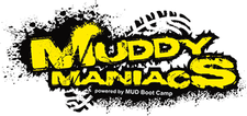 Mud Boot Camp, Powering Muddy Maniacs logo