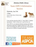 Team ASPCA Informational Event