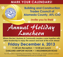 2013 Annual BCTC Holiday Luncheon