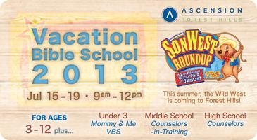 Ascension's 8th Annual Vacation Bible School - SonWest Roundup