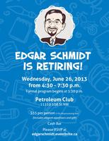 Retirement Celebration for Edgar Schmidt