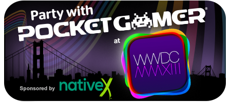 The Pocket Gamer Party @ WWDC  •• With Native X