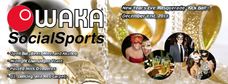WAKA New Year's Eve Masquerade Ball!