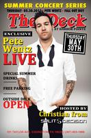 Fall Out Boy's Pete Wentz | The Deck At Harbor Pointe | 5.30.13 |