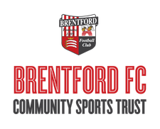 Brentford FC Community Sports Trust logo