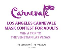 Carnevale Mask Contest for Adults - Win a Trip to The Venetian...