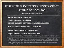 Public School 805 Recruitment Event