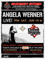 Angela Werner @ The House of Blues Foundation Room Lounge