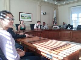 Santa Cruz Youth City Council Meeting