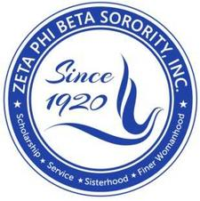 Iota Zeta Chapter of Zeta Phi Beta Sorority, Inc. logo