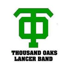 Thousand Oaks High School Band Boosters:  fundraising@tohsband.org or (805)-530-1199 logo