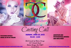 Bossette Productions Presents Candy Couture Casting Call