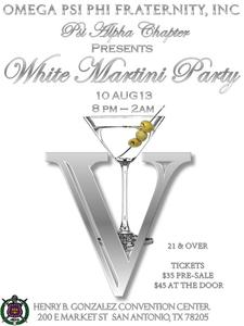 White Martini Party 2013 logo