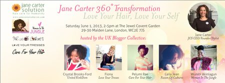 Jane Carter 360° Transformation - Love Your Hair, Love...