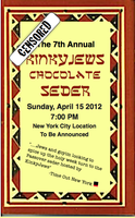 The 7th Annual KinkyJews Chocolate Seder