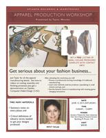 Apparel Production Workshop for Fashion Designers