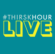#ThirskHour  logo