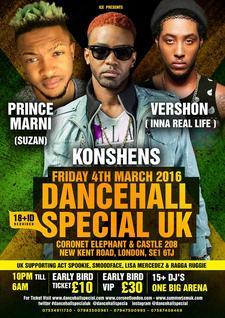 DancehallSpecialUK  call 07534911730 or 07983500961 for tickets logo