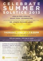 Summer Solstice Naam Yoga Celebration