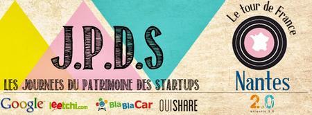 Les Journées du patrimoine des startups - Meetup Nantes