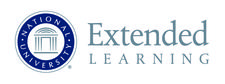 National University - The Division of Extended Learning logo