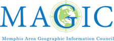 Memphis Area Geographic Information Council logo