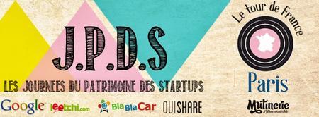 Les Journées du patrimoine des startups - Meetup Paris