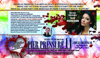 PIER PRESSURE 14 RELOADED with Host JESSICA CLARK