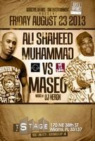 Ali Shaheed(A.T.C.Q) VS Maseo(DeLaSoul) 8/23/13...