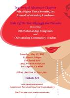 """INGLEWOOD ALUMNAE CHAPTER presents """"HATS OFF TO YOU"""""""