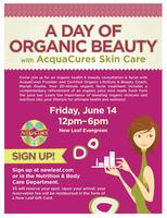 A Day of Organic Beauty with AcquaCures Skin Care