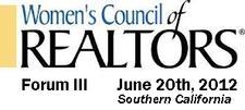 10 Chapter Mega Forum - Women's Council of Realtors  logo