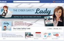 Leonie Smith The Cyber Safety Lady logo