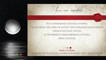 'Roses in the Ocean'  Fundraising Cocktail Evening