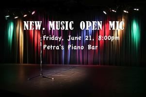 New Music Open Mic Night