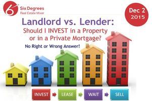 Landlord vs. Lender: Should I INVEST a Property or in...