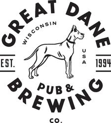 Great Dane Pub & Brewing Co.  logo