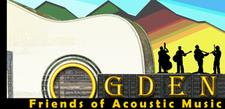 Ogden Friends of Acoustic Music  logo