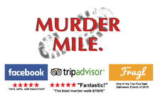 Murder Mile Walks - London logo