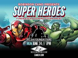 Robinson Cano Super Heroes Fundraiser