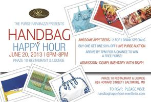 Handbag Happy Hour